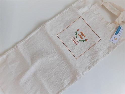 Grand sac à pain - 55 cm x 30 cm - Commerce équitable - Madagascar