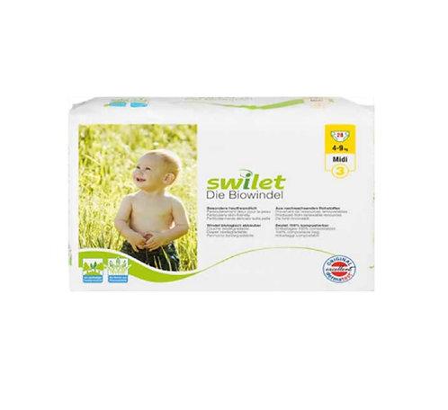Couches-culottes écologiques - Midi - 4 à 9 kilos (28 couches)