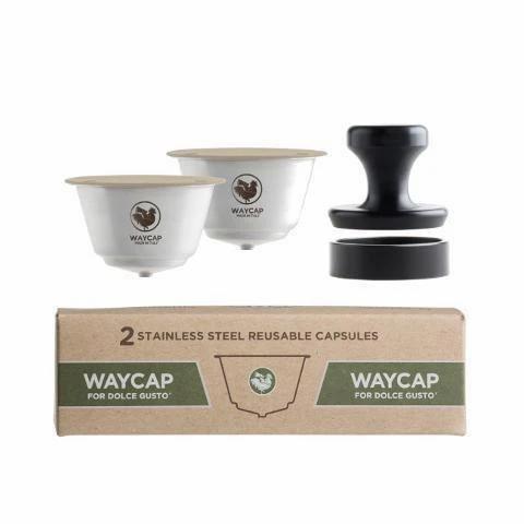 Lot de 2 capsules à café réutilisables pour Dolce Gusto