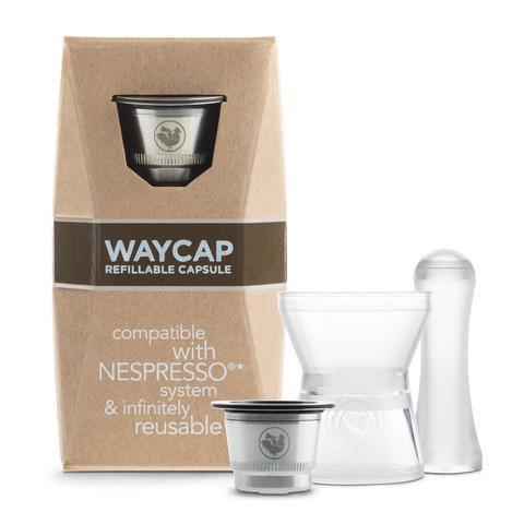 Capsule Nespresso réutilisable en acier inoxydable