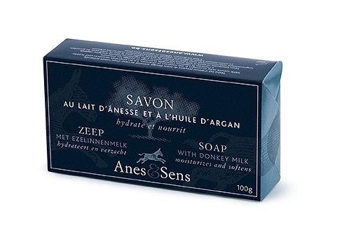 Savon au lait d'ânesse enrichi à l'huile d'Argan - 100 g