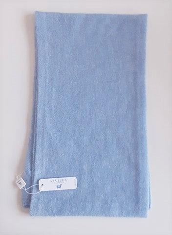 Écharpe 100 % cachemire - Couleur Cielo (bleu ciel) - Riviera Cashmere
