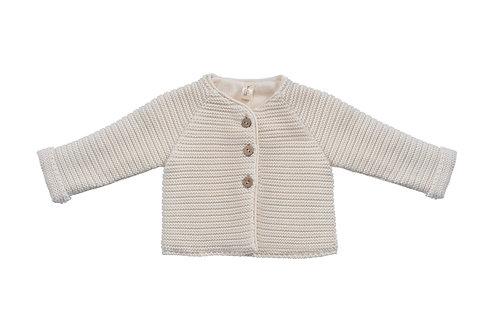 Manteau en tricot, coton bio (hiver)