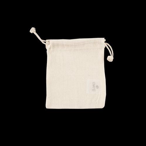 Pochette en coton bio écru (2 formats disponibles)