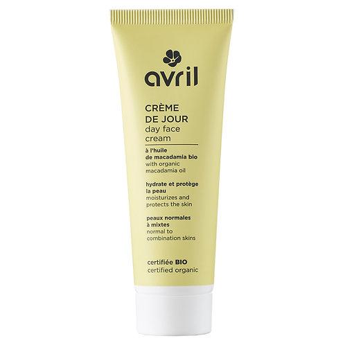 Crème de jour pour peaux normales et mixtes certifiée bio Avril - 50 ml