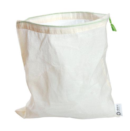 Lot de 5 sacs en coton bio - Taille S