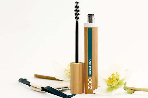 Mascara volume & gainage bio et végan (rechargeable) - Zao