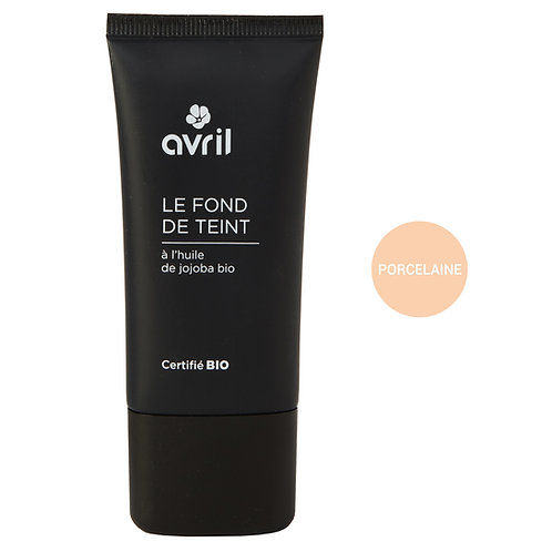 Fond de teint bio et végan - 30 ml - Avril
