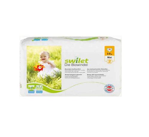 Couches-culottes écologiques - Mini - 3 à 6 kilos (28 couches)