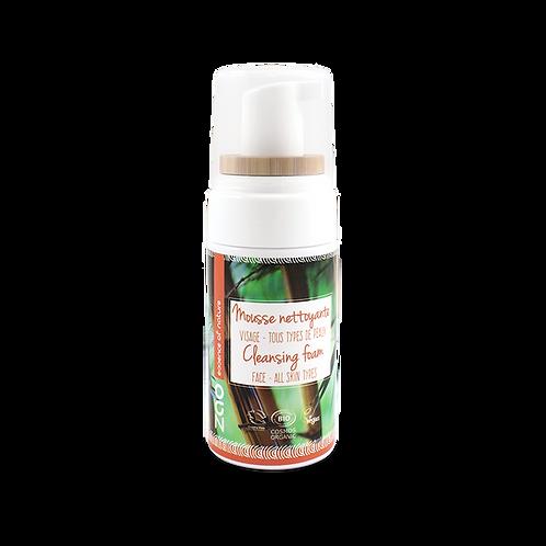 Mousse nettoyante bio et végane - 100 ml - Zao