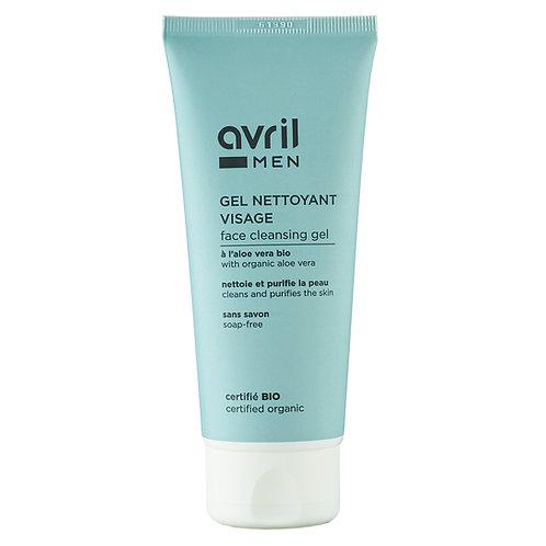 Gel nettoyant visage bio et végan pour homme - 100 ml