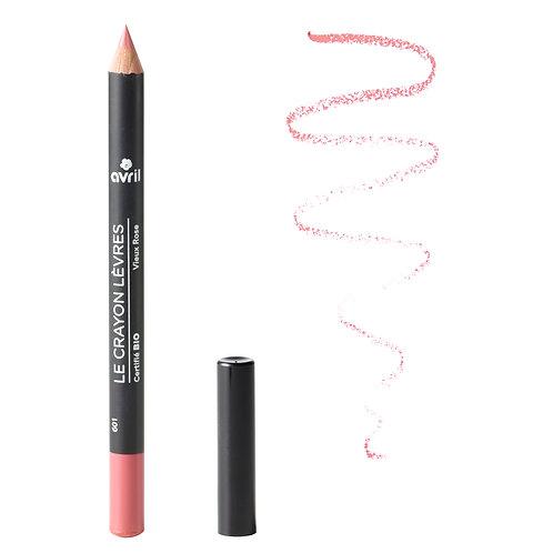 Crayon contour des lèvres certifié bio Avril (2 couleurs disponibles)