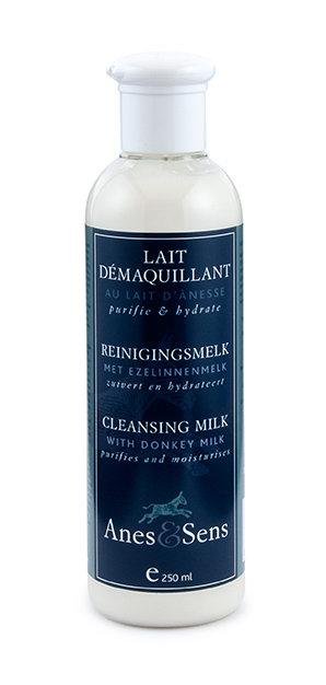 Lait démaquillant au lait d'ânesse - 250 ml