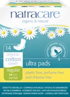 Serviettes hygiéniques Ultra - régulières - avec ailettes - 14 serviettes