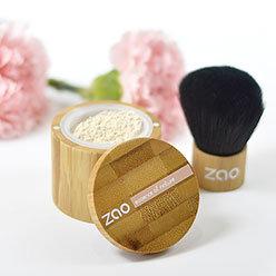 Mineral Silk invisible, poudre de finition bio et végane (rechargeable) - Zao