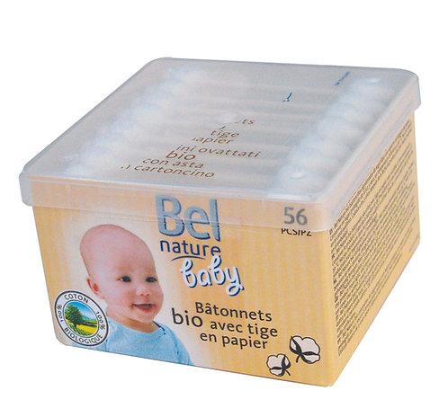 Boîte de 56 cotons-tiges de sécurité pour bébé