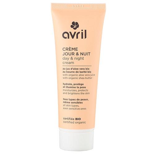 Crème jour et nuit certifiée bio Avril - 50 ml