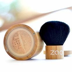 Mineral Silk, fond de teint poudre bio et végane (rechargeable) - Zao