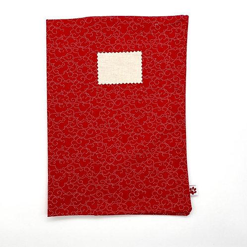 Protège-cahier réutilisable - A4 - Plusieurs coloris