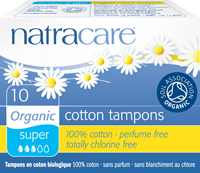Tampons sans applicateur - super - 10 tampons