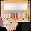 Thumbnail: Palette Ultra Shiny bio et végane (rechargeable) - 10 ombres à paupières - - Zao