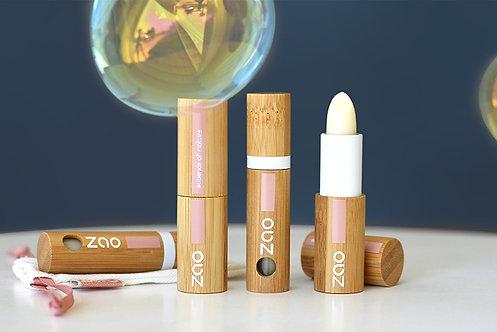 Baume à lèvres stick bio et végan (rechargeable)