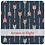 Thumbnail: Pochette à lunch réutilisable - Wrap Baguette 3 en 1 - 30 cm x 50 cm