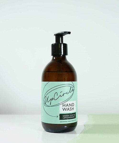 Savon liquide pour les mains (avec pompe) - Menthe verte et citronnelle - 270 ml