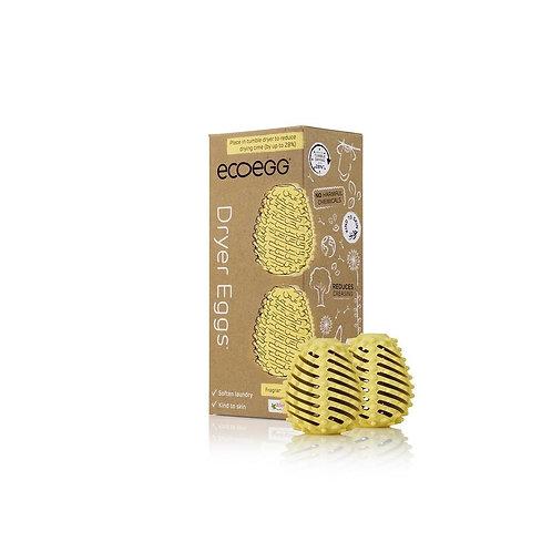 Lot de 2 œufs de séchage rechargeables Ecoegg - plusieurs parfums