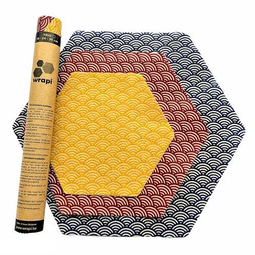 Beewrap Trio Pack - Dimensions S - M - XL