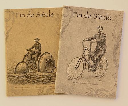 Petit carnet de 48 pages - ligné - en papier recyclé - 2 modèles