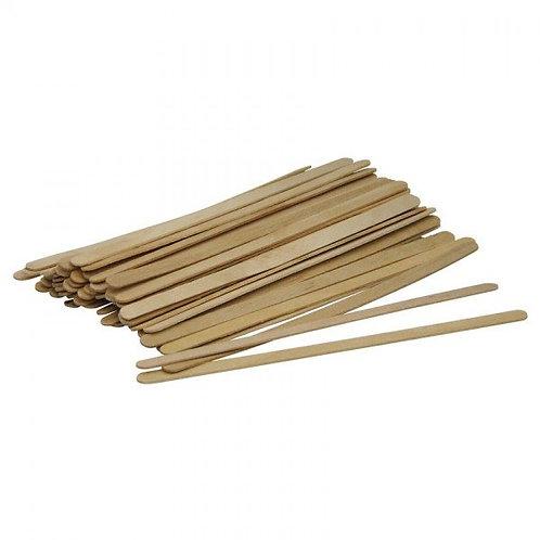 Lot de 1000 bâtonnets à café en bois de peuplier
