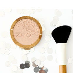 Shine-up powder bio et végane (rechargeable) - Zao