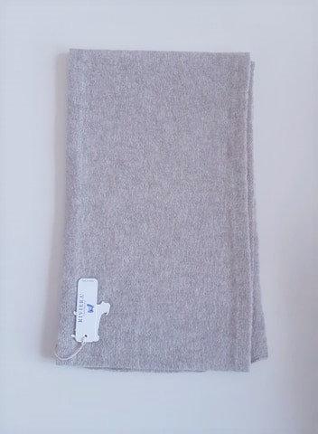 Écharpe 100 % cachemire - Couleur Silver (gris clair) - Riviera Cashmere