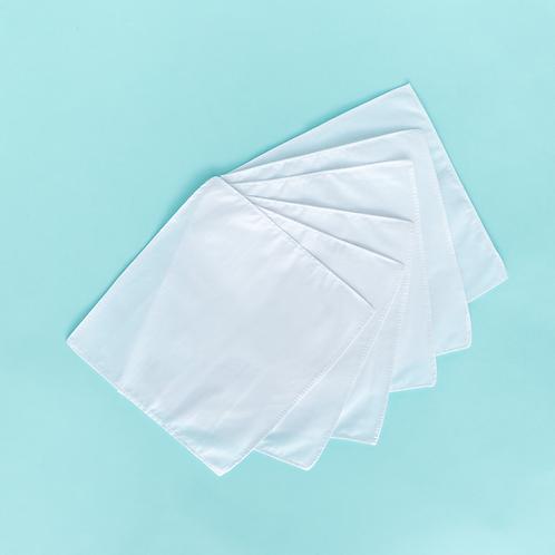 Recharge de 6 mouchoirs réutilisables bio - LastTissue