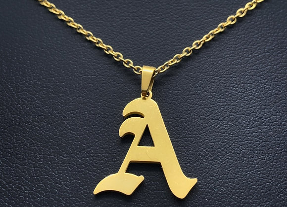 Ol' Classy Initial Necklace