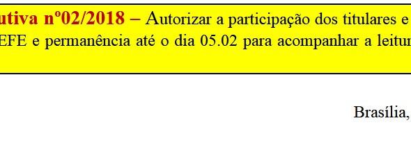 [Discussão-Executiva] RESULTADO 02. Consulta à Diretoria Executiva nº 02 - Autorizar a participaçao
