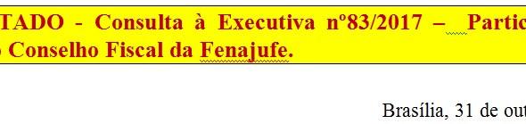 [Discussão-Executiva] 83. RESULTADO - Consulta à Executiva nº83/2017 –  Participação dos suplentes d