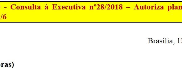 [Discussão-Executiva] 28. RESULTADO - Consulta à Executiva nº28/2018 – Autoriza plantão ampliado na