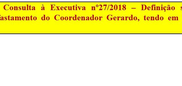 [Discussão-Executiva] 27. RESULTADO MÉRITO - Consulta à Executiva nº27/2018 – Definição sobre recurs
