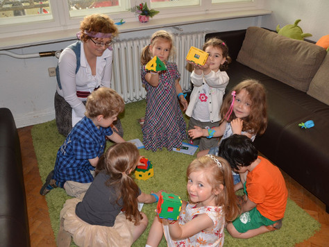 Новая группа «Развивайка» для детей двух-трёх лет по субботам в 10.45