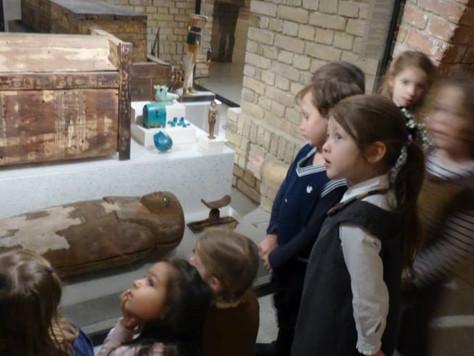 Ausflug ins Ägyptische Museum