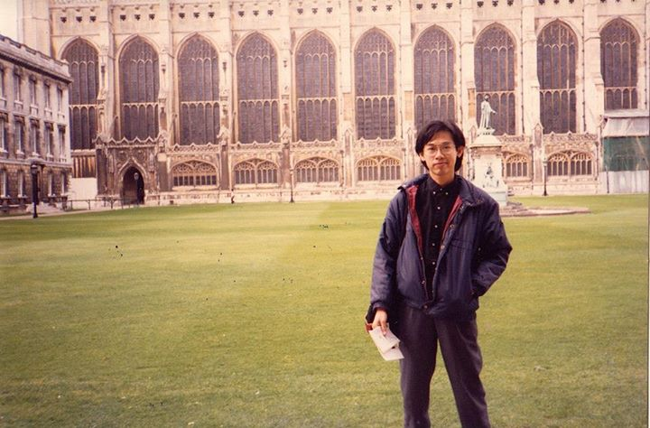 King's College, Cambridge _Mar1989