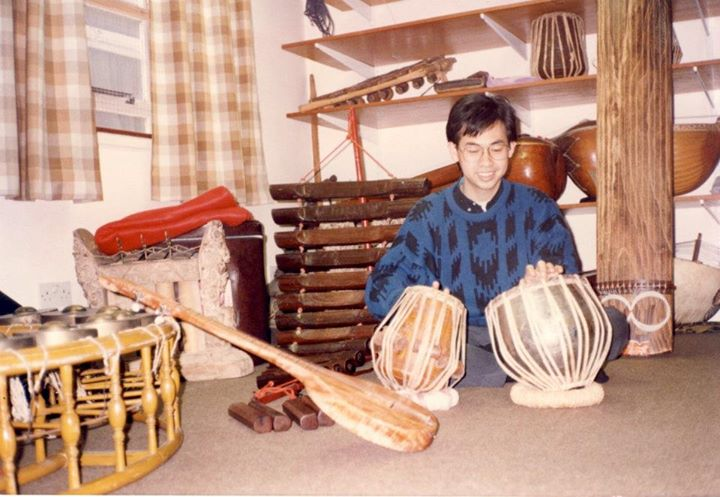 SOAS Music room 1990