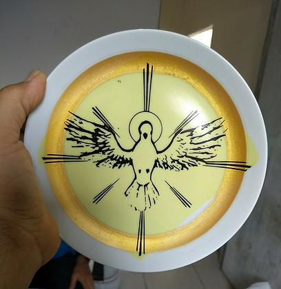 e Prato porcelana Coup sobremesa 19,0 cm