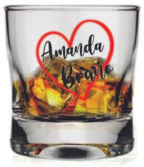 DN-7517 Copo Whisky Amassadinho 250ml