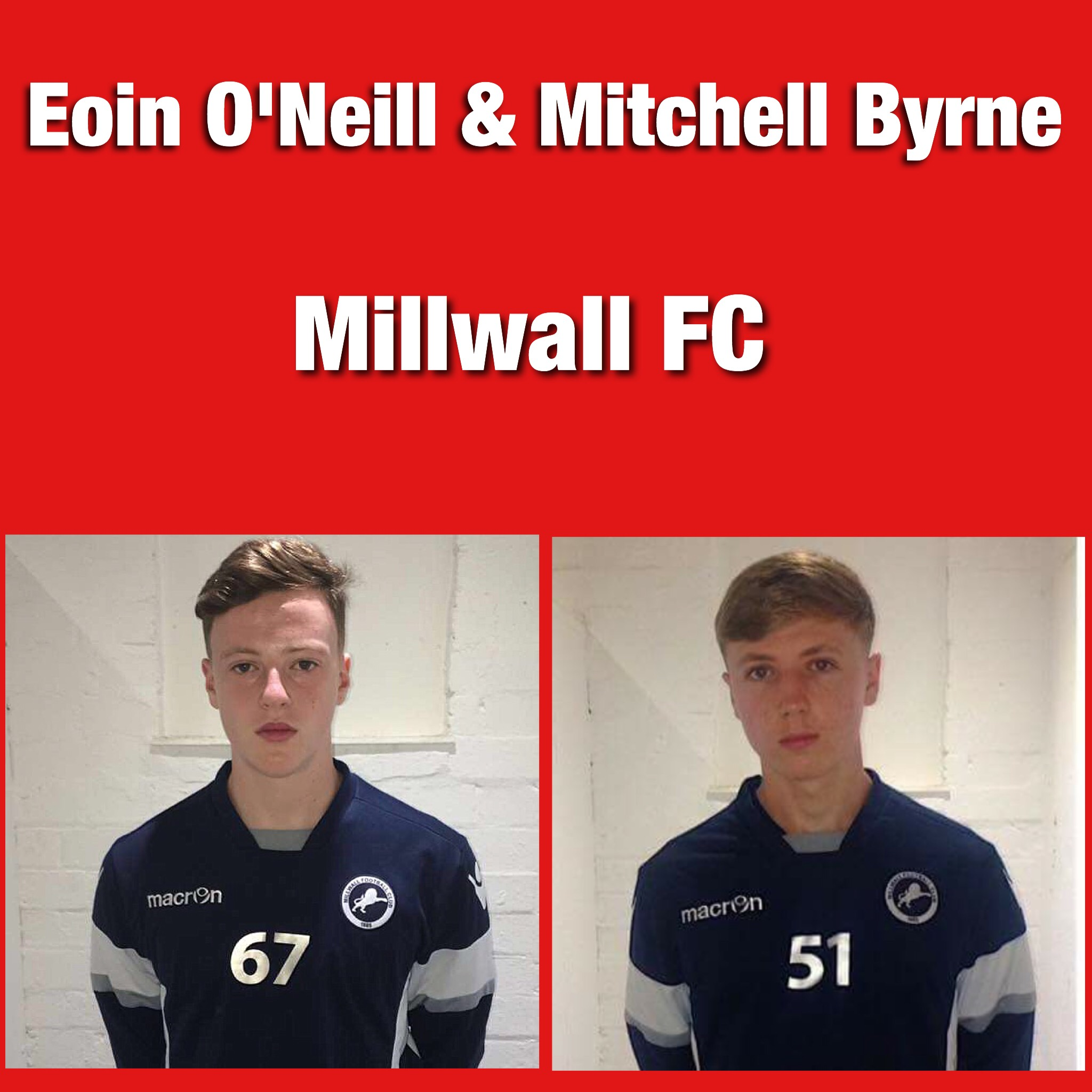 Eoin O'Neill & Mitch Byrne