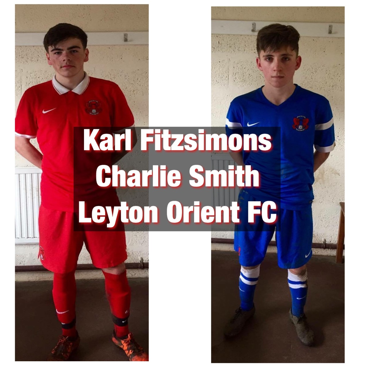 Karl Fitzsimons & Charlie Smith