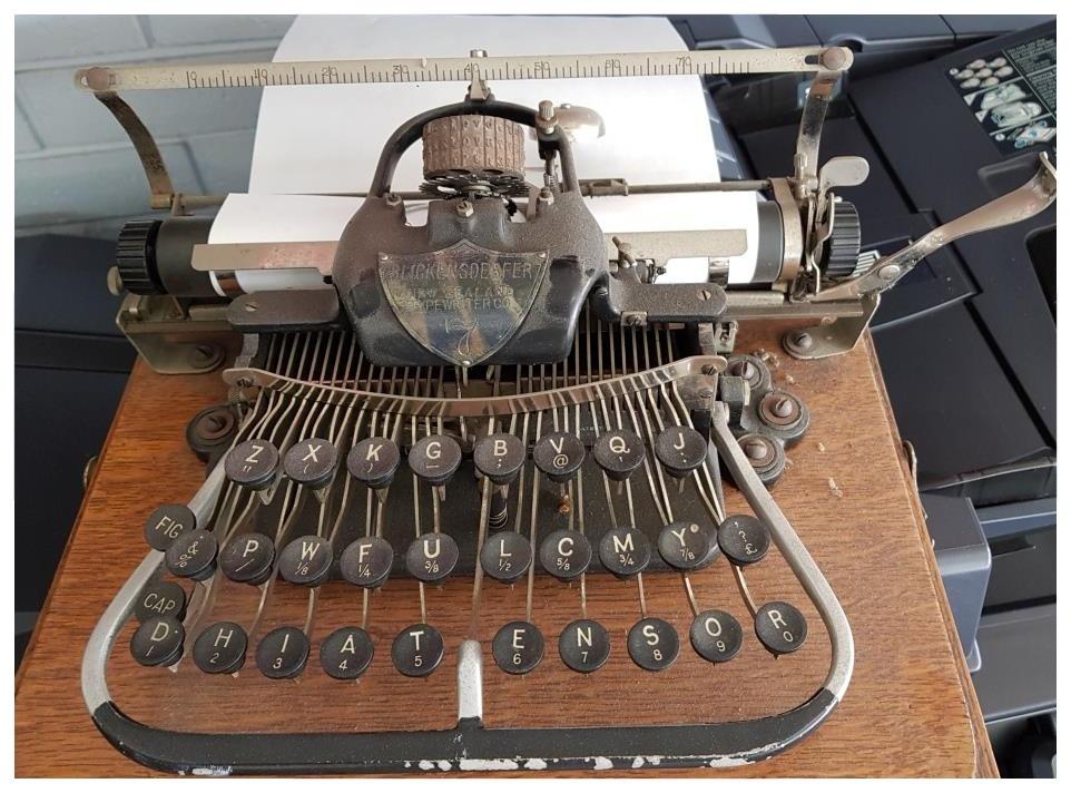Blickensderfer New Zealand Typewriter co.