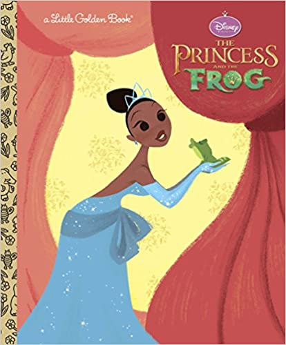 Disney's The Princess and the Frog - Little Golden Book